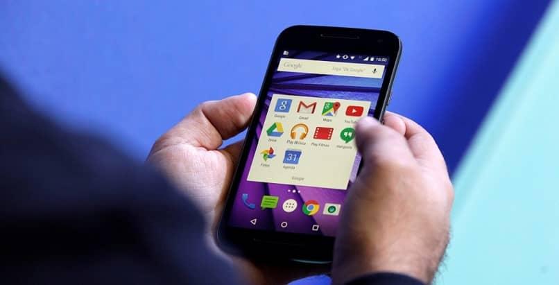 teléfono móvil android