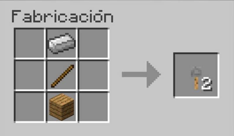 Gancho de cuerda en Minecraft