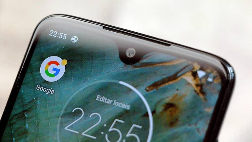 pantalla móvil moto g
